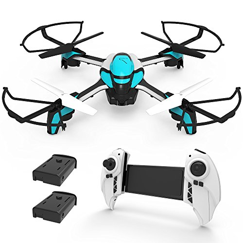 KAI DENG K80S Drone with Camera for Kids – 720P HD Camera Kids Drone for Beginner & RC Helicopter with Remote Control – Extra Battery
