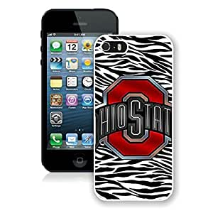 Beautiful Designed Case With Ncaa Big Ten Conference Football Ohio State Buckeyes 29 White For Case For Ipod Touch 5 Cover