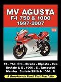 MV AGUSTA F4 750 & 1000 1997-2007  -  ROAD TEST PORTFOLIO