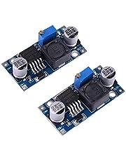 2pcs DC-DC Buck Voltage Converters Adjustable Step-down Power Source Modules 3.2V~35V to 1.25V~35V 3A