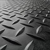 Rubber-Cal Diamond Plate Rubber Flooring