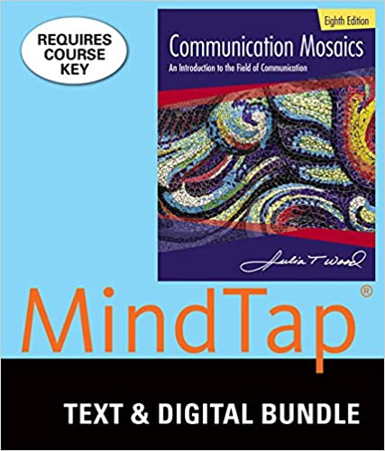 bundle communication mosaics loose leaf version 8th mindtap speech 1 term 6 months printed access card