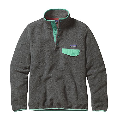 patagonia-women-light-weight-synch-snap-t-pull-over-sweater-nickel-w-galah-green-l