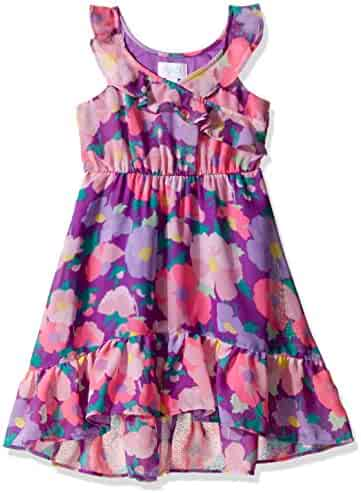 The Children's Place Girls' Floral Georgette Maxi Dress