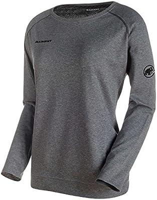 Mammut Crashiano Long-Sleeve Shirt S Womens Graphite Melange//Black