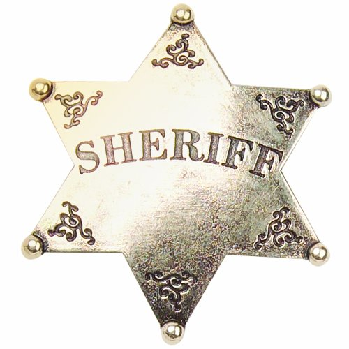 Denix Old West Sheriff's Badge]()