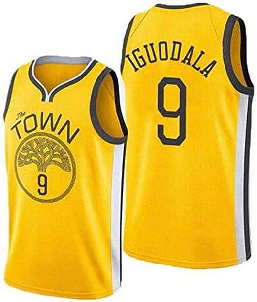 Camiseta Sin Mangas De Baloncesto Amarilla Para Hombre - Camiseta ...