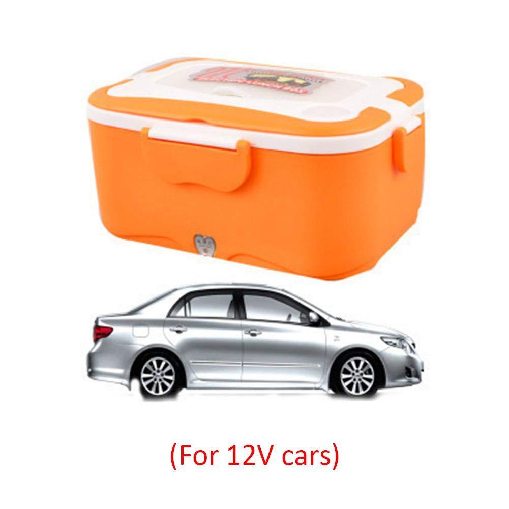 Juillet Boîte à Lunch électrique Coffret d'isolation Thermique Boîte à Lunch électrique 12V 24 V Chauffage de Voiture Boîte à Lunch Cuiseur de Riz Chaud 1.5L Boîte à Lunch