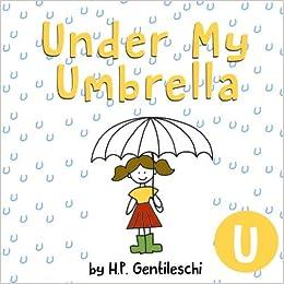 Under My Umbrella Clip Art