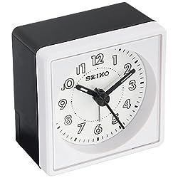 Seiko QHE083WLH Bedside Alarm Clock
