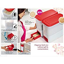 Tupperware Smart Rice Dispenser (10 Kg) With Multi Freebies fast Shipping