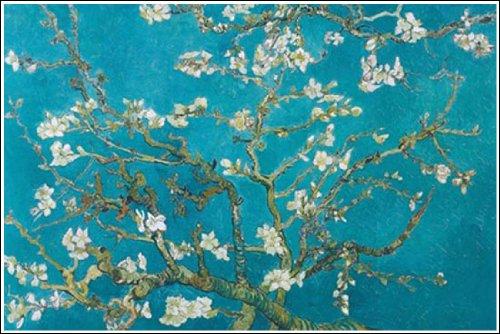 「花咲くアーモンドの木 ゴッホ」の画像検索結果