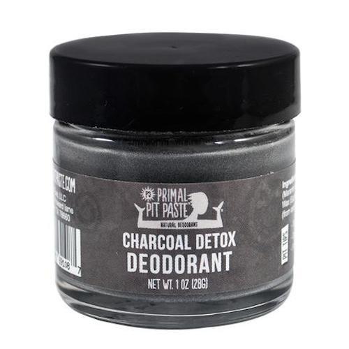 Primal Pit Paste Charcoal Detox Deodorant Jar