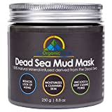 Clay Mask for Acne Scars My-Organic-Zone Dead-Sea-Mud-Mask for Acne-Treatment, Face-Mask Anti-Aging and Anti-Wrinkle (250g/8.8oz)