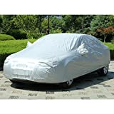 AUDEW Car Covers Waterproof /Windproof/Dustproof/Scratch Resistant Car Cover Sun Outdoor UV Protection Full Car Cover For SUV Car 210''
