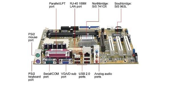 Foxconn K7S741GXMG-6L 462 (a) Sis 741 GX Micro ATX sólo