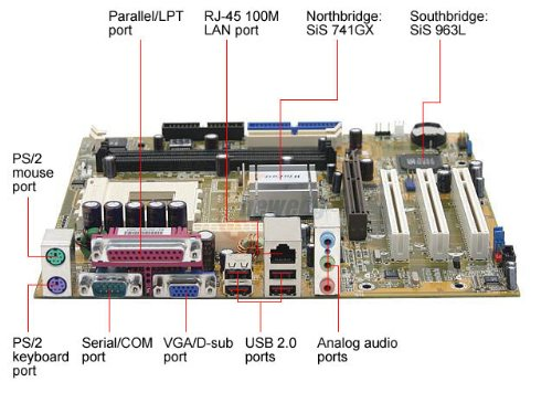 Foxconn K7S741GXMG-6L 462(A) SiS 741GX Micro ATX Only Motherboard I/O Shield (Foxconn Usb Motherboard)