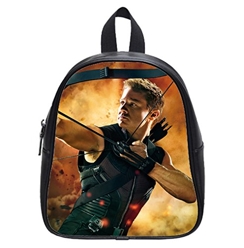 the-avengers-hawkeye-jeremy-renner-custom-kids-black-backpack-school-bag-small