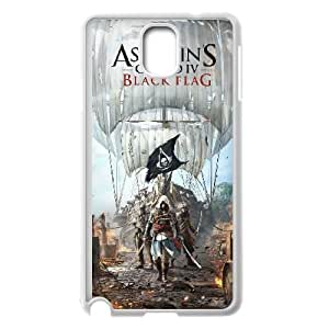 Assassins Creed Black Flag Samsung Galaxy Note 3 Cell Phone Case White yyfabc_085322