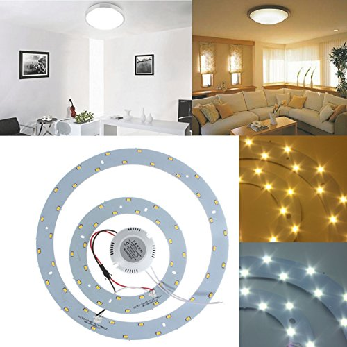 White 16 Led Circular Light Board