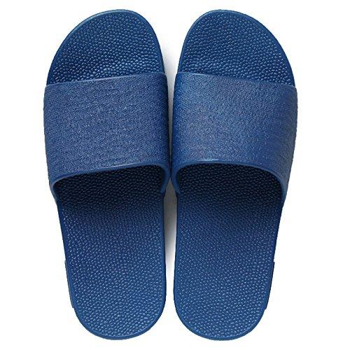 giovane maschile estiva di Blu outdoor home DogHaccd pantofole antiscivolo femmina insalata fondo navy spessa bagno pantofole Moda coperta O8qgwxwEF