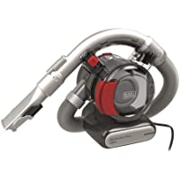 Black & Decker PD1200AV-B1 Flexi Cyclonic Car Corded Dustbuster Hand Vacuum with Full Set Acc, 12V