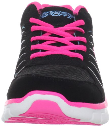 Skechers Synergy  11683 CCGR - Zapatillas fashion para mujer negro - negro/azul