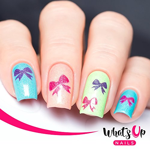 Whats Up Nails Christmas Nail Vinyl Stencils 4 Pack Import It All