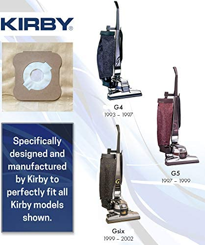 Pack of 10 Vacuum Cleaner Bags suitable for Kirby Generation 4 5 6 By Radvac