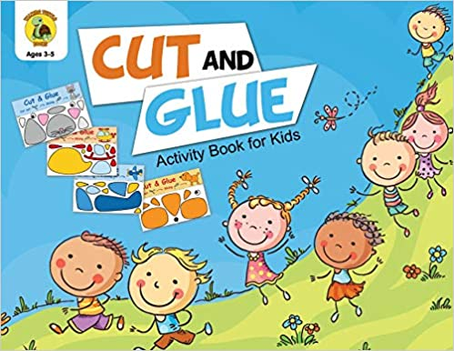 Descargar Cut And Glue Activity Book For Kids: Cut Out Cute Full Color Images Of Animals, Vehicles And Plants (ages 3-5) Epub