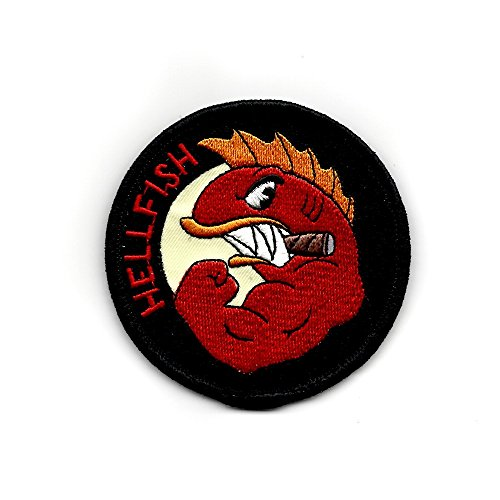 (Tactical Outfitters The Flying Hellfish Morale Patch)