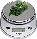 Ozeri Pronto Digital Multifunction Kitchen and Food Scale, Elegant Chrome (Kitchen)