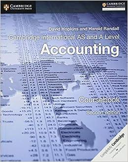 Randall Accounting Book