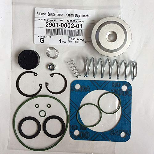 2901000200 Intake Valve Service Kit for Atlas Copco Air Compressor Replacement Unloader Valve 2901-0002-00