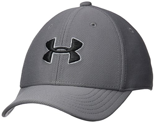 Price comparison product image Under Armour Boys' Blitzing 3.0 Cap, Graphite (040)/Black, Youth X-Small/Small