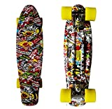 "RIMABLE Complete 22"" Skateboard (Flower)"