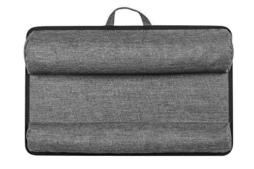 Lapgear Xl Deluxe Laptop Lap Desk Black Carbon Fits