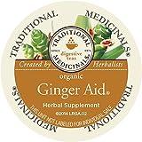Traditional Medicinals Organic Ginger Aid Tea, Single Serve (10 Count)