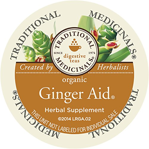 Herbal Syrup Echinacea (Traditional Medicinals Organic Ginger Aid Tea, Single Serve (10)