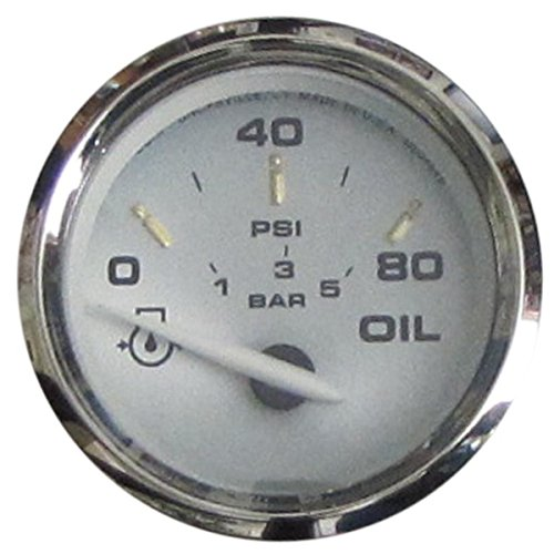 Faria Oil - Faria One Size 19002 Kronos Oil Pressure Gauge