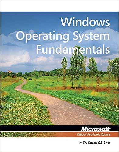 WINDOWS OS FUNDAMENTALS PDF