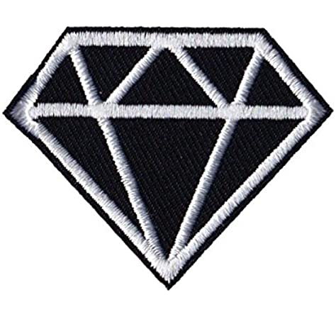 Amazon Com Diamond Patches Gem Patches Iron On Patch Embroidered Patch Custom Patches Arts Crafts Sewing