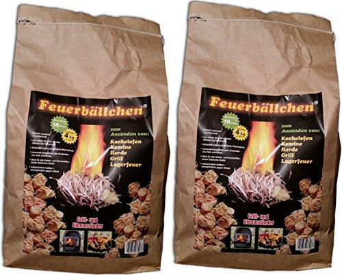 Feuerbällchen Ofenanzünder (8 Kilogramm)