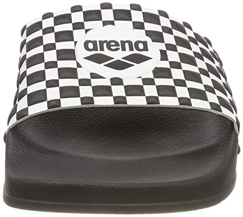 Unisex white Badesandale black Black Therese Arena dICq7wd