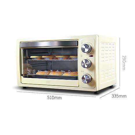 IG Mini Horno de 30 litros con Ajuste de Temperatura 0-230 ℃ y 0 ...