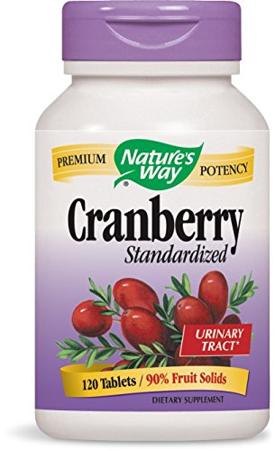Natures Way Cranberry 120 Tablets