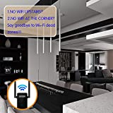 HELLE&TU MSRM US302 Wi-Fi Extender with Full WiFi Covering Repeater with Dual External Antennas For 2.4GHz Router