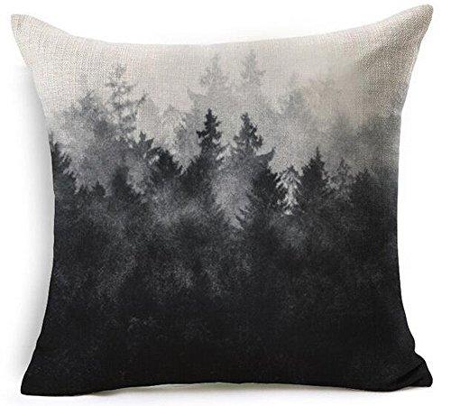 Nordic Creative Design Modern Geometric Black Pine Forest Co