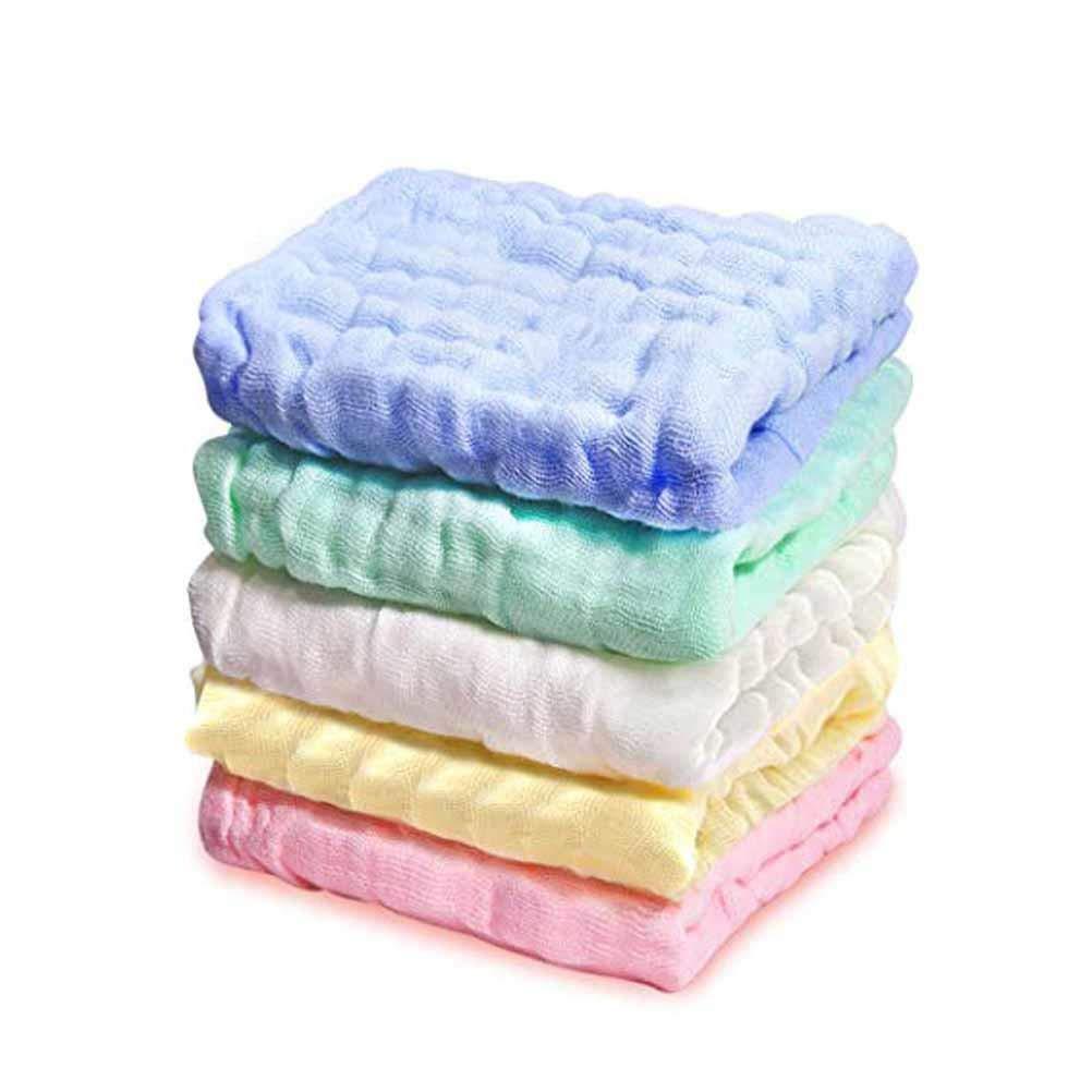 Baumwoll-Handtuch 8/St/ück Baby-Waschlappen
