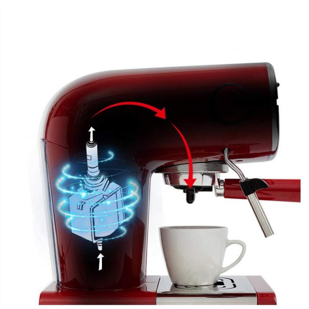 Máquina De Café Vintage Cafetera Italiana Semi-Automática Cafetera ...